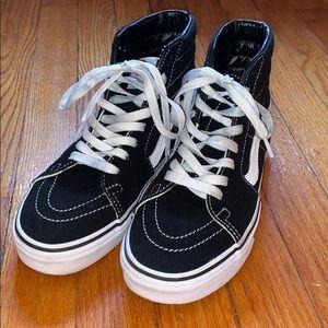 Sk8-Hi Vans - Black&White - All offers considered